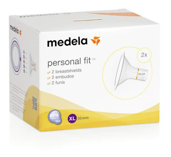 Medela - lejki Personal Fit, XL (30mm), 2 szt.